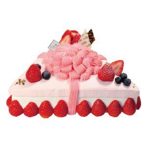 トライアングルストロベリー・ショートケーキ
