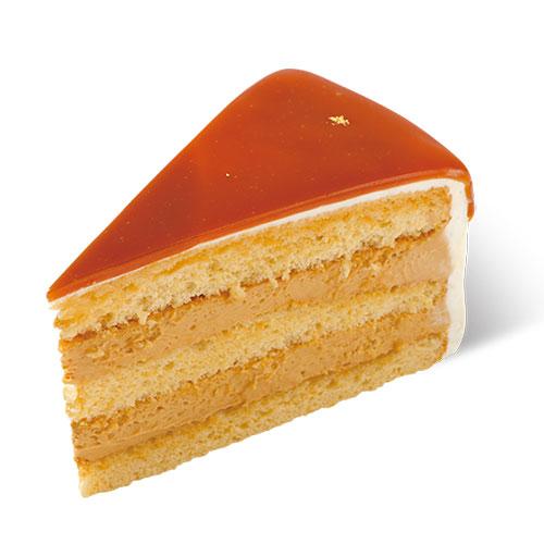 生キャラメルのケーキ