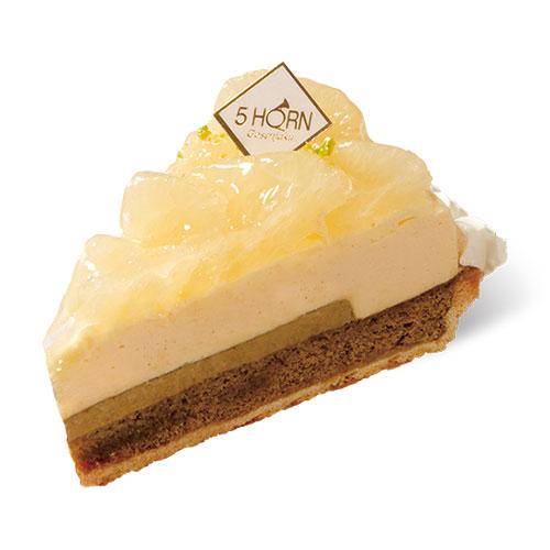 【1月の新作ケーキ】紅茶とグレープフルーツのタルト