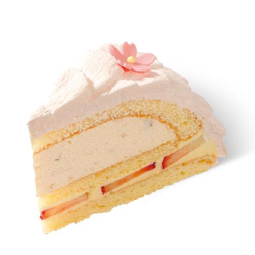 【4月のおすすめケーキ】新メニュー「桜と苺のドーム」