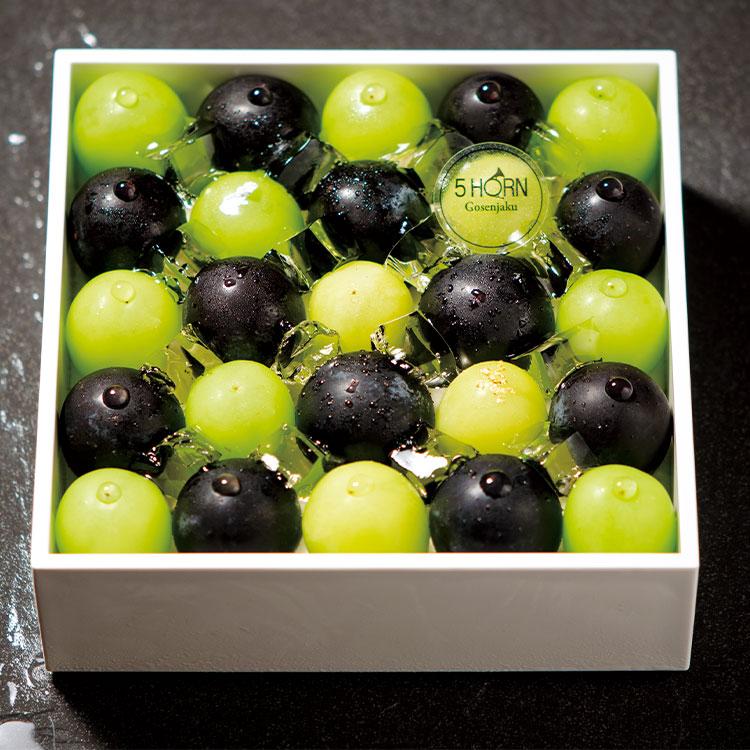 葡萄のジュエリーボックス